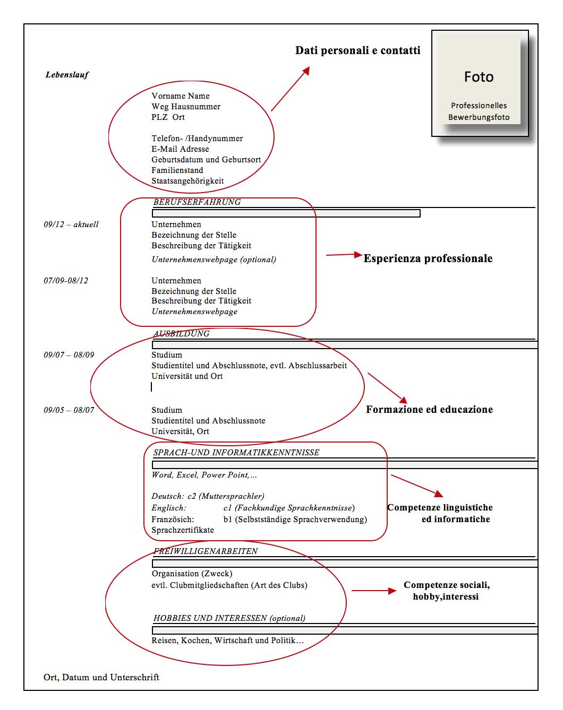 Guida Alla Pilazione Di Un Curriculum Vitae