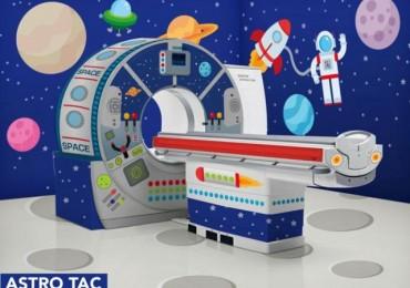 I piccoli pazienti-astronauti con la nuova Astro-Tac