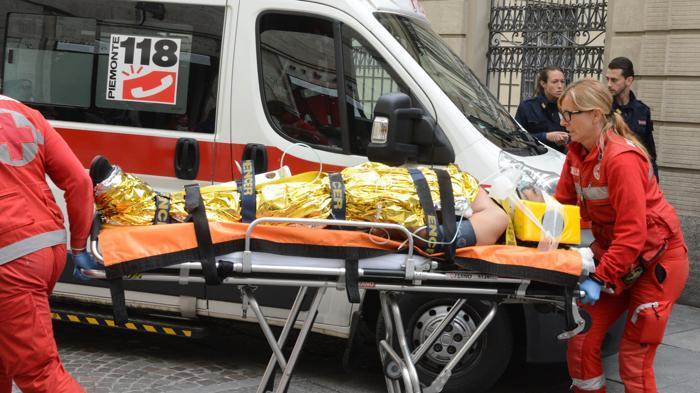infermiere ferito