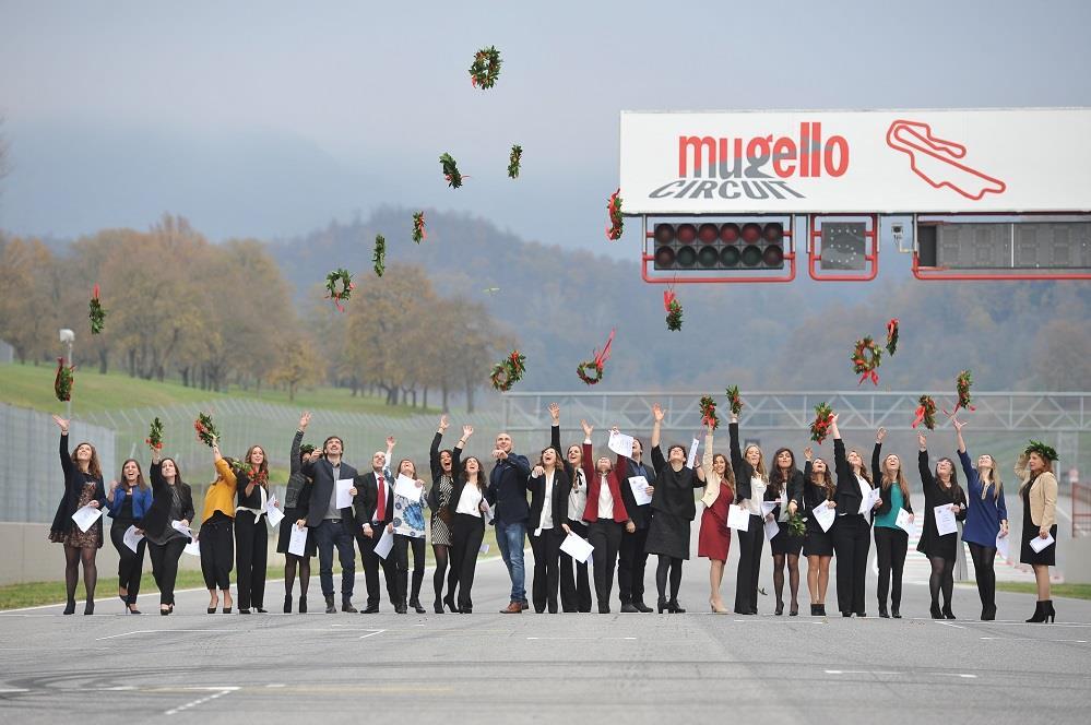 Laurea - traguardo - Autodromo del Mugello