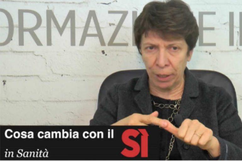 Per la senatrice Silvestro gli INFERMIERI ITALIANI sono un BANCOMAT elettorale