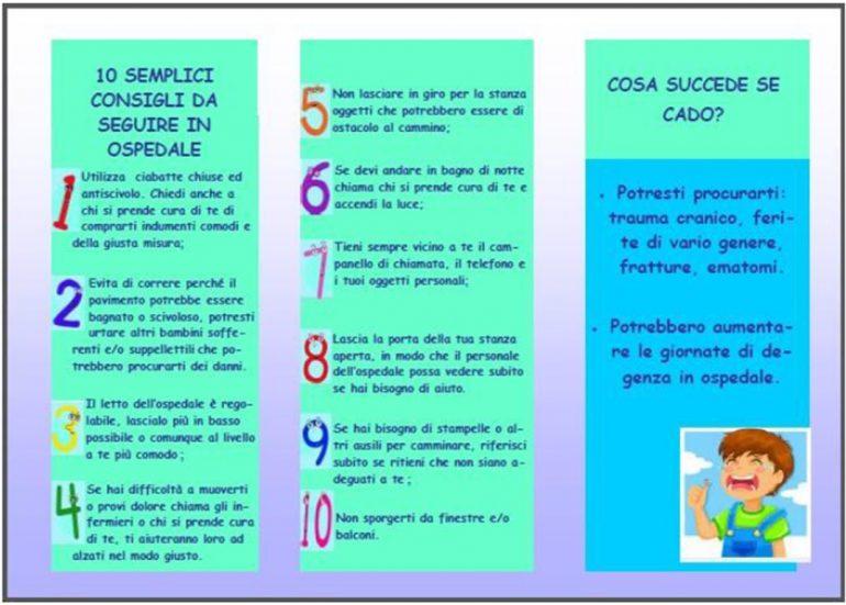 Bambino ospedalizzato e prevenzione delle cadute: revisione di letteratura e strumenti di supporto per l'educazione alla prevenzione