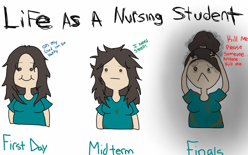 La vita di uno studente di infermieristica