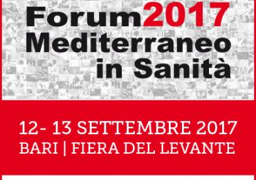 Forum 2017 Mediterraneo in Sanità: IPASVI Bari patrocinante dell'evento