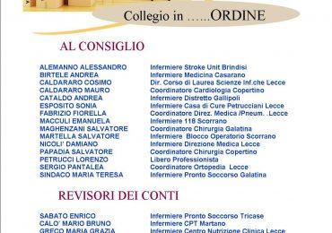 IPASVI Lecce al voto, le sfide e le proposte del Nuovo