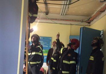 Siena, paura in ospedale: crolla controsoffitto, feriti dipende