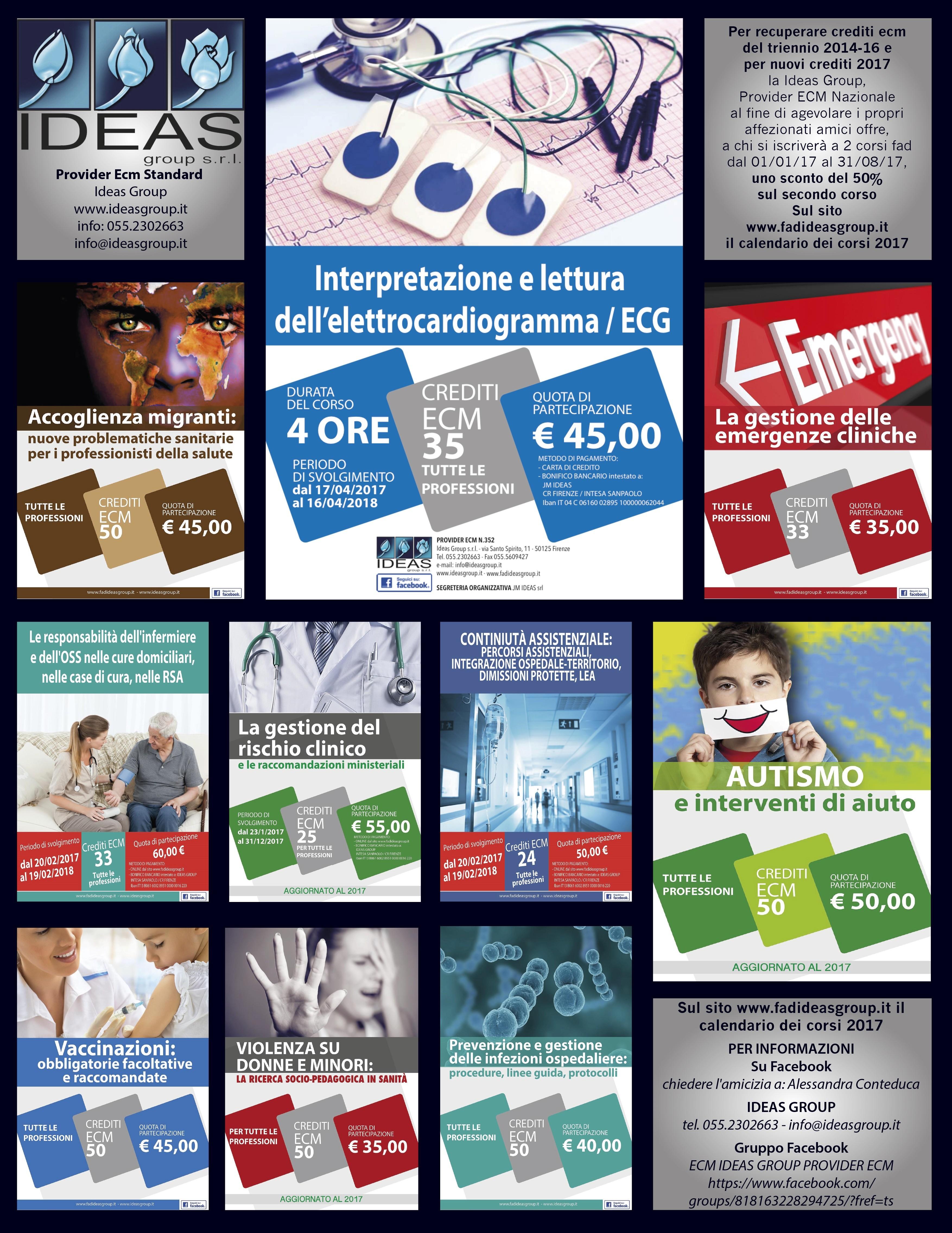 Come recuperare crediti e.c.m. del triennio 2014-16? Ecco tutte le indicazioni