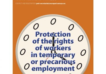 Tutela dei diritti dei lavoratori: udienza pubblica in Commissione Petizioni del Parlamento Europeo