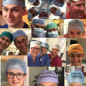 Scrivere il proprio nome sul copricapo in sala operatoria migliora la sicurezza per il paziente? 2