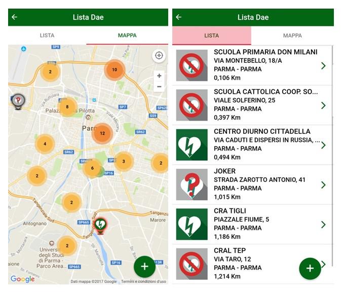 """Vi presentiamo """"DAE RespondER"""" l'app salvavita creata dal sistema 118 dell'Emilia Romagna 14"""
