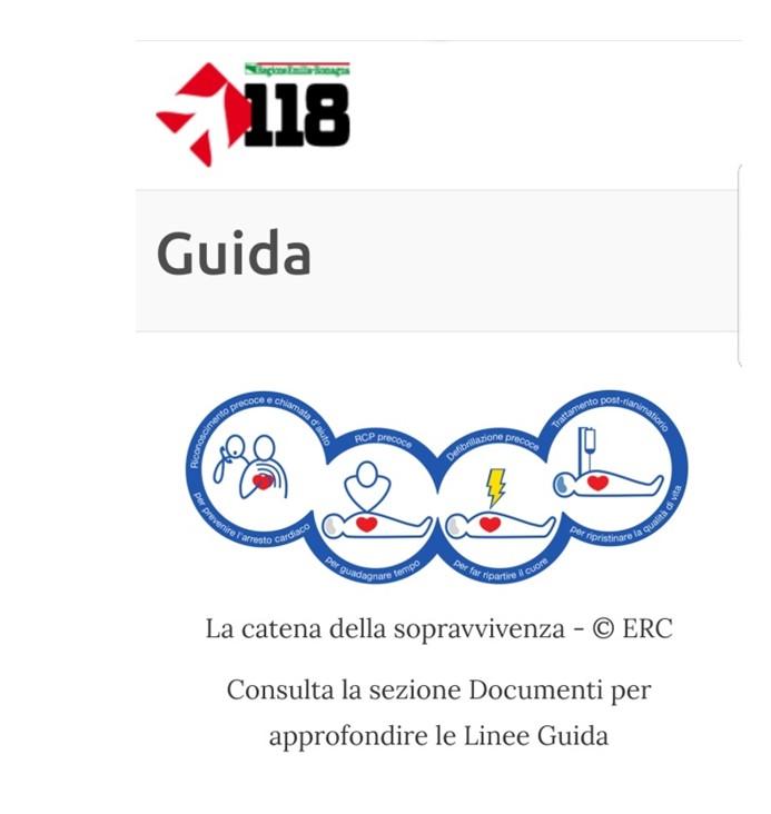 """Vi presentiamo """"DAE RespondER"""" l'app salvavita creata dal sistema 118 dell'Emilia Romagna 3"""