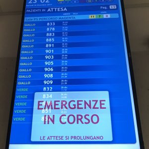 Genova, centinaia di pazienti in attesa in P.S. e cinghiali che invadono l'ospedale: prosegue lo stato di emergenza