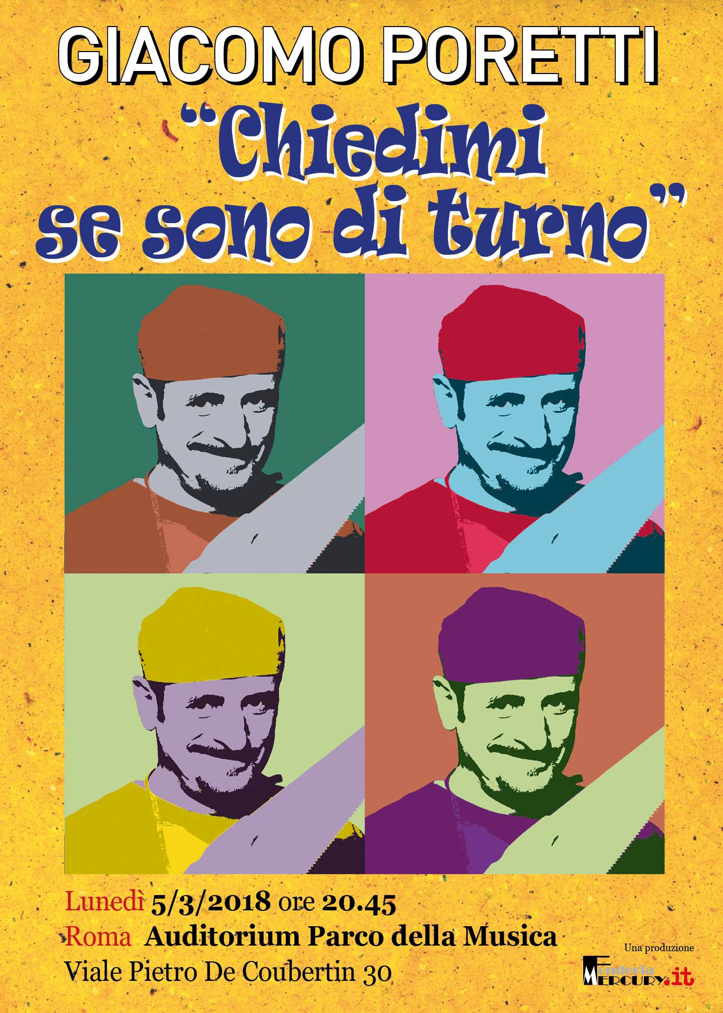 Giacomo Poretti al congresso nazionale con uno spettacolo inedito