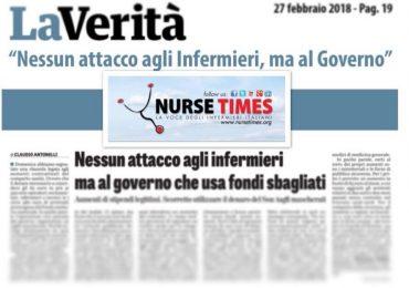 """La Verità risponde agli infermieri: """"L'attacco non era a voi, ma al governo"""""""