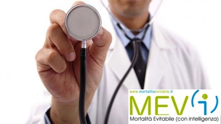 Mortalità evitabile: i dati del rapporto MEV(i) 2018