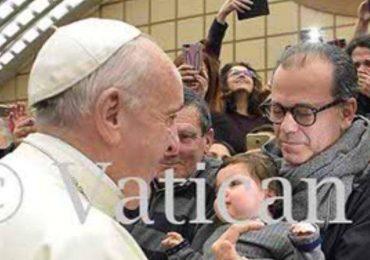 """Laura Baldassari """"Grazie Papa Francesco per il sostegno e le grandi parole di oggi!"""" 3"""