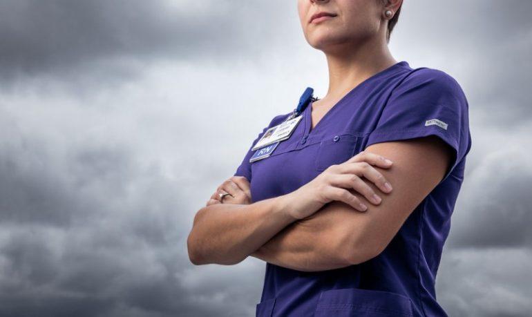 "Parola di infermiera: ""Io mi sento un eroe"""
