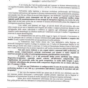 """Solidarietà"" ai medici del Friuli VS infermieri: capricci di una categoria in declino 2"