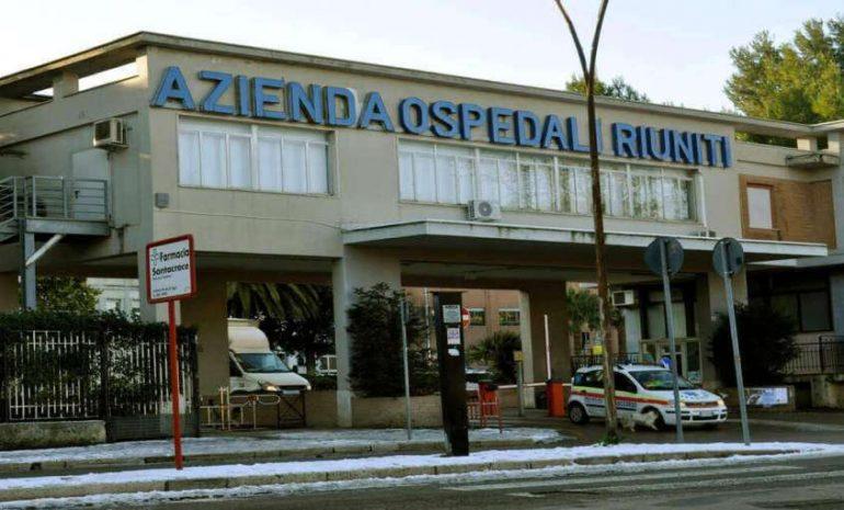 Foggia, 137 posti da oss agli Ospedali Riuniti