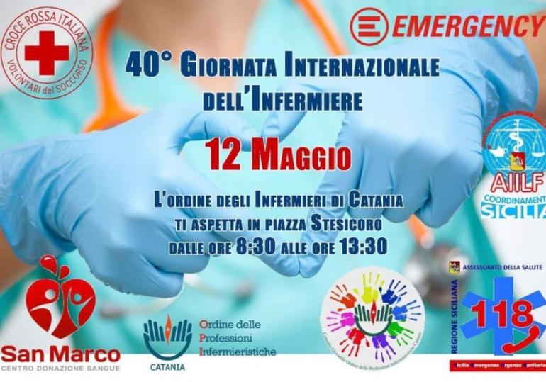 Giornata Internazionale dell'Infermiere, le iniziative dell'OPI Catania 2