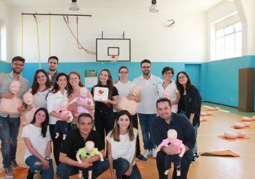 OPI BARI: Giornata Internazionale dell'infermiere dedicata alle nozioni di base del BLSD per i ragazzi di scuola medie ed elementare