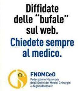 """""""Una bufala ci seppellirà?"""": campagna shock di Fnomceo contro le fake news sulla salute 1"""