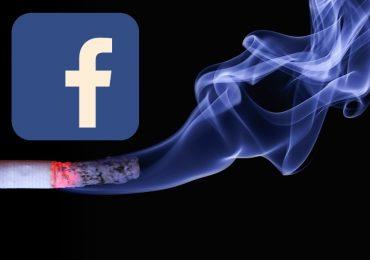 Vuoi smettere di fumare? Ti aiuta Facebook