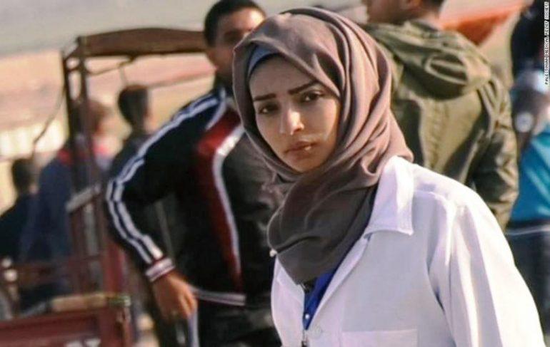 Risultati immagini per Israele ed il  caso di  Razan al-Najjar