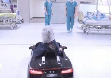 Play Therapy a Palermo: i bimbi andranno in sala operatoria con le mini-auto