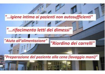 """Civitavecchia, appare l'ennesimo elenco di compiti per gli infermieri: """"GESTIONE DEL TEMPO DI LAVORO"""""""