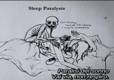 PARALISI IPNAGOGICA: disturbo del sonno 1