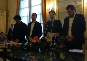 """Conte a Genova """"il nostro applauso sincero va a tutti i soccorritori...a loro va il nostro commosso plauso"""
