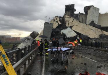 Genova, 35 le vittime di cui tre bambini. Soccorritori al lavoro per salvare i sopravvissuti