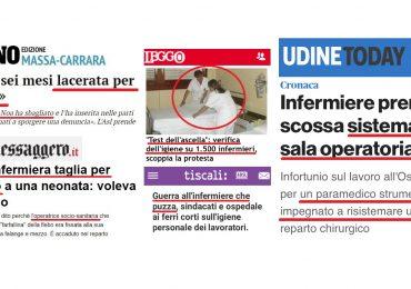 La dura vita degli infermieri italiani, tra umiliazioni continue e accuse inverosimili