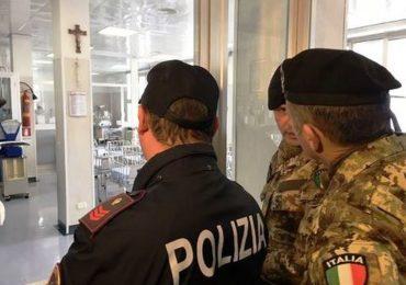 Militari in corsia a difesa del personale: si parte dal Civico