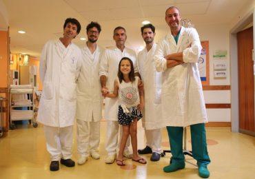"Oso. Meyer: bimba brasiliana sottoposta a intervento di ""Spiral intestinale lengthening and tailorilng"""