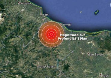 Terremoto in Molise di magnitudo 4.7. Alcuni consigli utili da