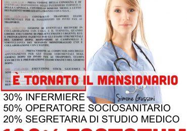 Baggiovara: in medicina ritorna il mansionario dell'infermiere factotum