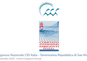 Comitato Infermieri Dirigenti: XXIV Congresso Nazionale dal 8 al 10 novembre a San Marino
