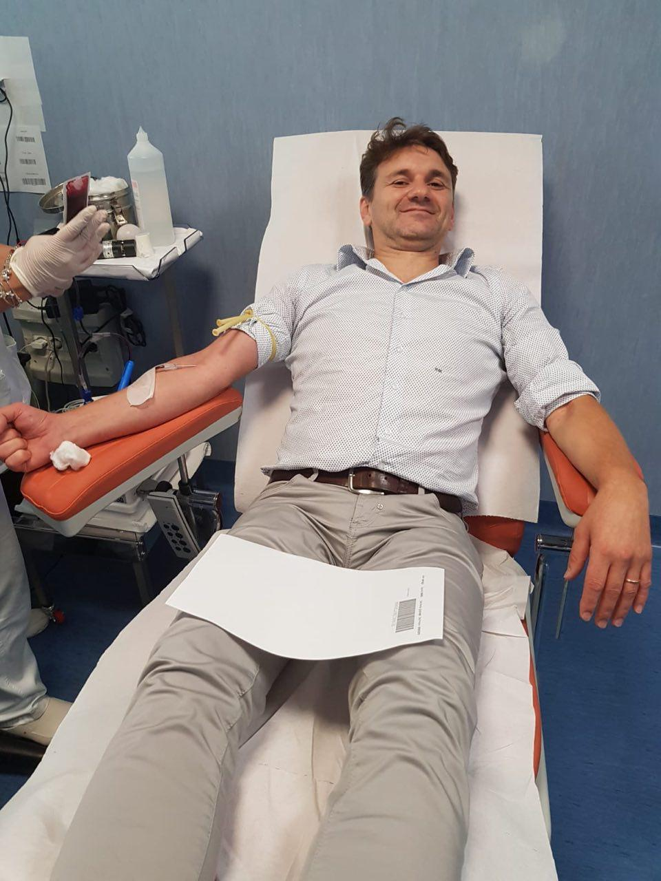 Continua la campagna di sensibilizzazione degli infermieri per la donazione di sangue