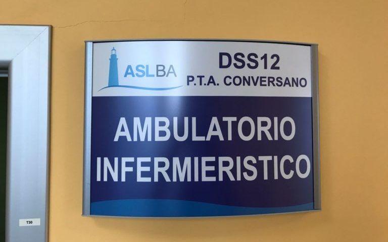 Conversano (Bari), pronto nuovo ambulatorio infermieristico