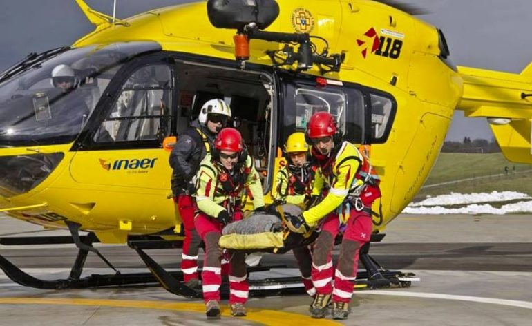 """""""Noi, infermieri degli elicotteri gialli..."""""""