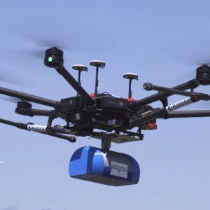 ABzero, il primo drone in grado di trasportare autonomamente emoderivati, organi o medicinali 2