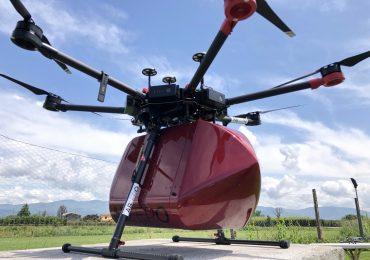 ABzero, il primo drone in grado di trasportare autonomamente emoderivati, organi o medicinali