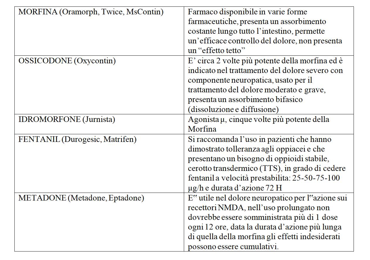 Infermieri In Pillole (#InfermieriInPillole): i farmaci antidolorifici e oppioidi 2