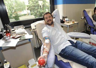 """Salvini:""""Donazione di sangue obbligatoria nelle scuo"""