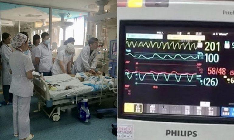 Medici e infermieri effettuano oltre 30.000 compressioni toraciche e 5 ore di RCP per salvare la vita ad un bimbo di 8 anni