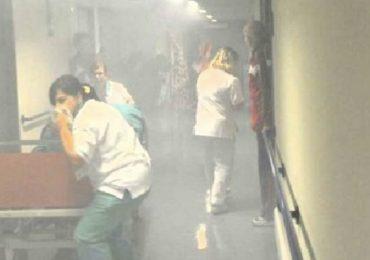 Incendio all'osp. Spallanzani: un paziente muore carbo