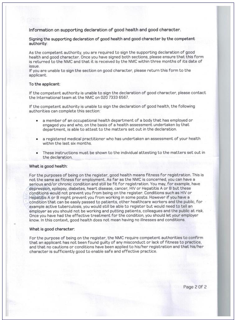 L'iscrizione al NMC: guida completa per lavorare come infermiere nel Regno Unito 3