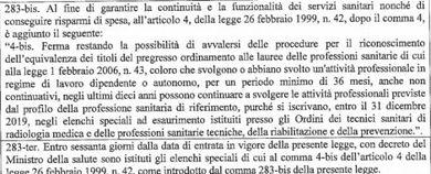 """M5S su deroga iscrizione a Ordini """"tuteliamo i lavoratori a rischio licenziamento"""""""